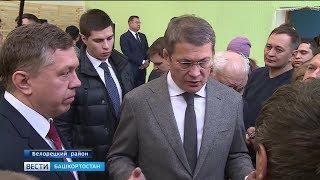 Новый спорткомплекс и импортозамещающее производство: Радий Хабиров сегодня посетил Белорецкий район
