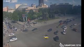 Новосибирск. ДТП со скорой.