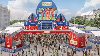 В Ростове рассказали, как будет проходить «Фестиваль болельщиков» на Театральной площади