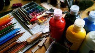 В Ханты-Мансийске научат рисовать акварелью за час