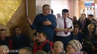 Глава РА посетил несколько сел Чойского района
