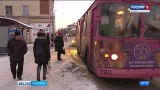 Троллейбусный парк Петрозаводска пополнит техника из Петербурга