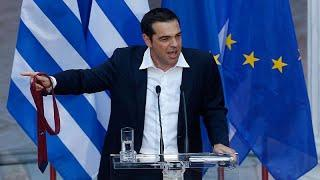Кризис пройден: Ципрасу пришлось надеть галстук