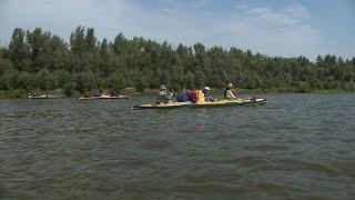 Экологический сплав «Великие реки России» добрался до Серафимовичского района