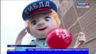 В Саранске в рамках проекта «Безопасная дорога для детей» проверили наличие в автомобилях детских уд