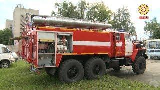 Парк пожарной техники пополнился новыми автомобилями.