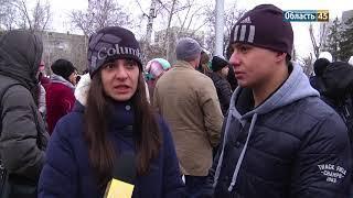 «Час тишины»: в Кургане почтили память погибших в Кемерове