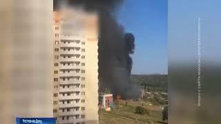 Пожар в Кумженской роще: огнем охвачена площадь 2000 кв.м