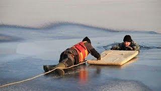 Югорчане стали чаще проваливаться под лёд