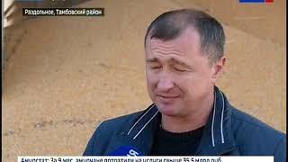 В агрофирме «Партизан» поставили рекорд по намолоту сои