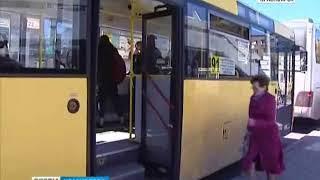 В Красноярске появится новый автобус, который будет ходить с правого берега до автовокзала