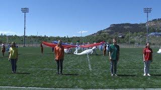 На КМВ открыли третью  тренировочную площадку для команд-участниц Чемпионата мира по футболу.