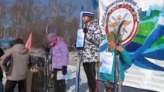 """Более 150 любителей ЗОЖ собрала """"ДОСААФОВСКАЯ лыжня"""" в Биробиджане(РИА Биробиджан)"""