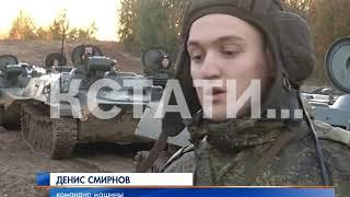 Танковые учения прошли на Мулинском полигоне