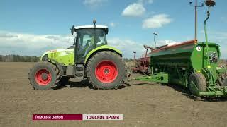 В Томской области появились вести с полей