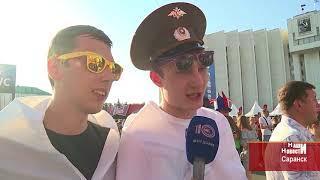 Трансляция матча Россия - Уругвай на фестивале болельщиков