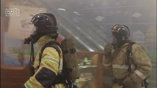 Камчатские огнеборцы тренировались тушить пожары