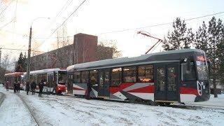 В декабре на маршруты Екатеринбурга выйдут первые низкопольные трамваи