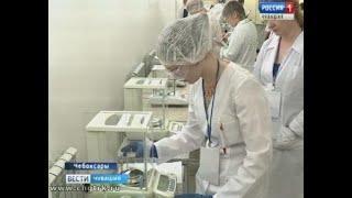 В Чебоксарах проходят отборочные соревнования на право участия в Национальном чемпионате «Молодые пр