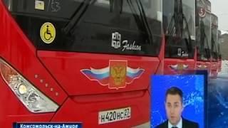 Пополнение автопарка в Комсомольске