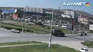 Керчь: ДТП на Ворошиловском кольце