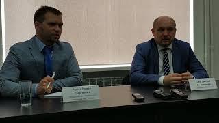 Пресс-конференция Романа Чуйко и Дмитрия Смита