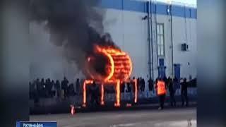 """""""Огненная труба"""": донские каскадеры выполнили уникальный автотрюк"""