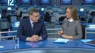 Александр Бурков надеется на визит Владимира Путина в Омскую область