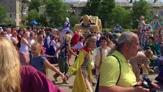 Фестиваль Карагод в Хабаровске