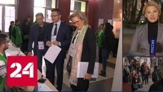 Выборы в Грузии: нервы у кандидатов не выдерживают - Россия 24