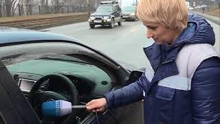 Несоблюдение дистанции привело к ДТП на Луговой