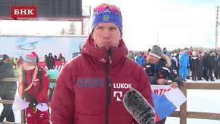Александр Большунов - Чемпионат России по лыжным гонкам 2018 года