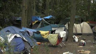 Франция: эвакуация лагеря мигрантов