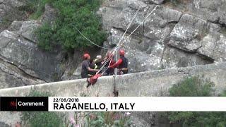 Италия: смертельный паводок