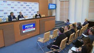 Полная запись пресс-конференции «Новации в избирательном процессе»