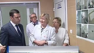 Дмитрий Миронов посетил обновленное гематологическое отделение Областной клинической больницы