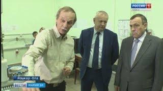 «Серьезное предприятие со своей школой» – Александр Евстифеев посетил «Хроматек» - Вести Марий Эл