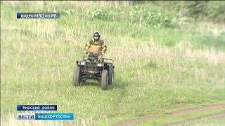 В Башкирии полицейский собрал своими руками уникальный квадроцикл