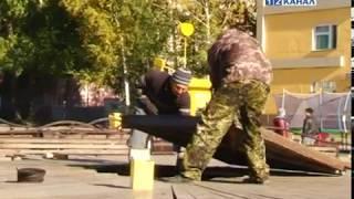 Коммунальные службы приступили к консервации фонтана