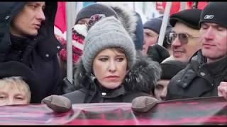 Москва. Марш памяти Бориса Немцова.