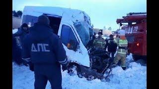 Автобус «Уфа-Казань» попал в ДТП: 2 человека погибли, 4 получили травмы