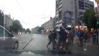 """Напротив к/т """"Заря"""" в Калининграде произошла массовая драка"""