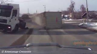 Дураки и дороги Подборка ДТП 2018 Сборник безумных водителей #191