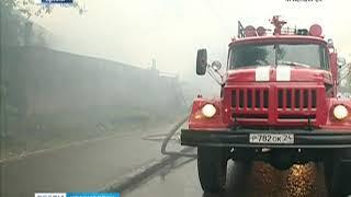 В Нижнеингашском районе при пожаре погибли женщина и ребёнок