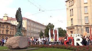 Главный ВУЗ Петербурга посвятил в студенты вчерашних абитуриентов. ФАН-ТВ