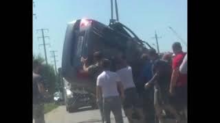 Авария в Михайловске на ул Ишкова