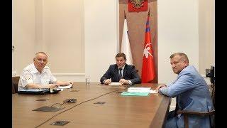 Губернатор Андрей Бочаров принял участие в заседании государственного антинаркотического комитета