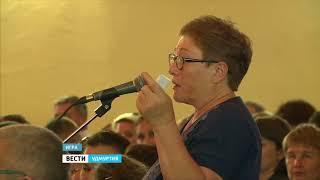 Глава Удмуртии Александр Бречалов посетил с рабочим визитом Игринский район