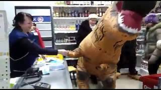 Динозавр в Воронеже