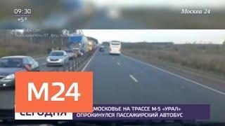 Уточнилось число пострадавших в ДТП на подмосковной трассе - Москва 24